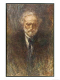 Giuseppe Verdi the Italian Opera Composer in Old Age Giclée-Druck