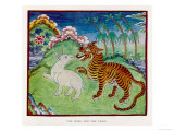 The Hare Tricking the Tiger Giclee Print