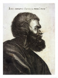 "Lucius Annaeus Seneca ""The Younger"", Roman Philosopher and Statesman Giclee Print"