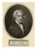 Thomas Augustine Arne, Giclee Print