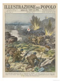 Canton: Japanese Forces Close in on the City and Eventually Take It Giclee Print
