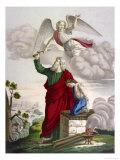 Abraham and Isaac Lámina giclée