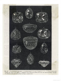 Detail of Celebrated Diamonds Including Grand Mogul and the Kohi-Noor Giclee Print