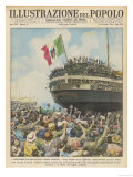 Italian Legionaries Giclee Print