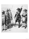 Peter Stuyvesant Arrives as Governor of New Amsterdam Giclee Print