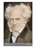 Arthur Schopenhauer German Philosopher Giclee Print