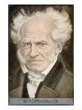 Arthur Schopenhauer German Philosopher Giclee Print