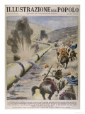 Arabs Sabotage Oil Pipes Giclee Print