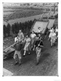 Allotment Workers WWII Giclee Print