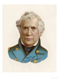 Zachary Taylor Known as &quot;Old Rough-And-Ready&quot; American Soldier 12th Us President Giclee Print
