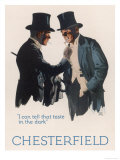 Chesterfield Cigarettes, I Can Tell That Taste in the Dark Giclee Print