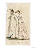 Two Ladies in Morning Dress for September 1799 Giclee Print