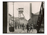 Japanes Occupied Coal Mine in China Giclee Print