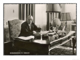 Konrad Adenauer German Statesman First Chancellor of West Germany after World War Two Giclee Print
