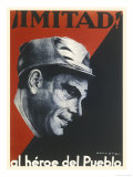 Buenaventura Durruti Communist Militant Leader During Spanish Civil War Giclee Print