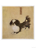 This is How the Pekingese Dog Looked in Its Native China as Depicted in an Imperial Dog Book Giclee Print