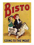 Bisto the Bisto Kids Bisto Gravy, Going to the Meat Giclee Print