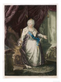 Catherine the Great Empress of Russia Giclee Print