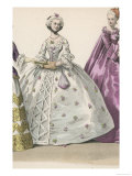Frenchwoman 1720 Giclee Print