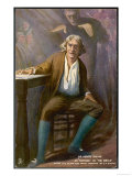 Henry Irving English Actor-Manager as Mathias in the Bells Giclee Print