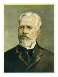 Pyotr Ilich Tchaikovsky, Russian Composer Giclee Print