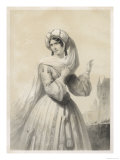 La Juive Rachel the Heroine Giclee Print