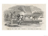 "Shipboard Cannon on the ""Mary Rose"" Wrecked in the Reign of Henry VIII Giclee Print"
