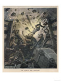An Explosion at the Colliery in Belgium Results in the Deaths of 160 Miners Giclee Print