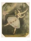 Carlotta Grisi, Italian Ballet Dancer Seen Here in Giselle Giclee Print