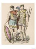 Ancient Greek Warriors Giclee Print