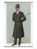 Frock Coat 1890s Giclee Print