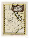 Map of Ethiopia Giclee Print