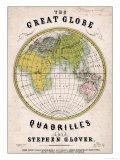 The Great Globe Giclee Print