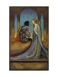 Romeu e Julieta Impressão giclée premium