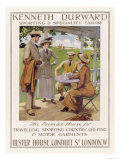 Golfing Clothes 1912 Giclee Print