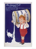 Frisian Girl Sweetened Condensed Milk Giclee Print