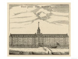 The East India Company&#39;s Warehouse in Amsterdam Giclee Print