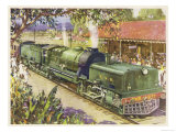 The Glory of Steam Premium Giclee Print