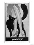 Stockings Advert. 1931 Giclée-tryk