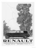 Renault in a Rural Setting Giclee Print