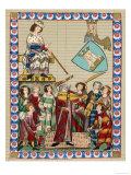 The Minnesinger Meister Heinrich Frauenlob Giclee Print