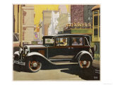The Chevrolet Six Club Sedan Has a Fisher Body Which is Why It Looks So Distinguished Giclee Print