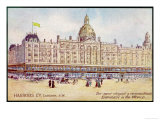 "Harrods of London ""The Most Elegant and Commodious Emporium in the World"" Giclee Print"