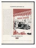 Chevrolet Six 1931 Giclee Print