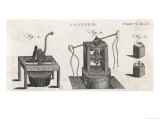 Coining Machines Giclee Print