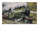 "The London and North Eastern Railway's ""Flying Scotsman"" Express Reproduction procédé giclée"
