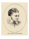 Lydia Becker Editor of the Women's Suffrage Journal Giclee Print