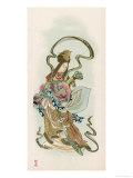 Benzaiten, Goddess of Grace and Beauty Giclee Print