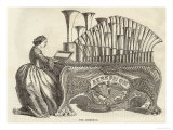 Similar to the Calliope This American Instrument is Basically an Organ Premium giclée print