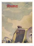 The Distinctive Radiator Grille of the Wolseley Giclee Print
